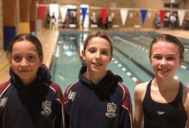 Swimming Qualifiers - Jemima, Roman and Connie