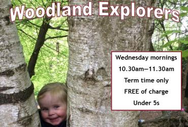 Woodland Explorers flyer